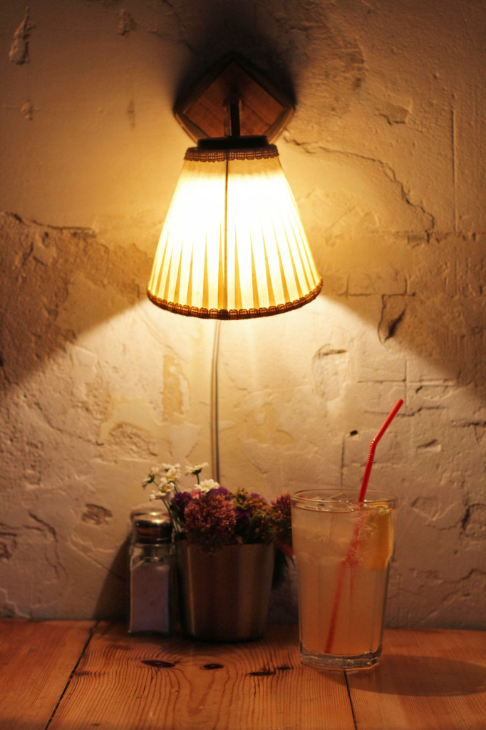 Homemade Lemonade at MJ's Foodshop Berlin