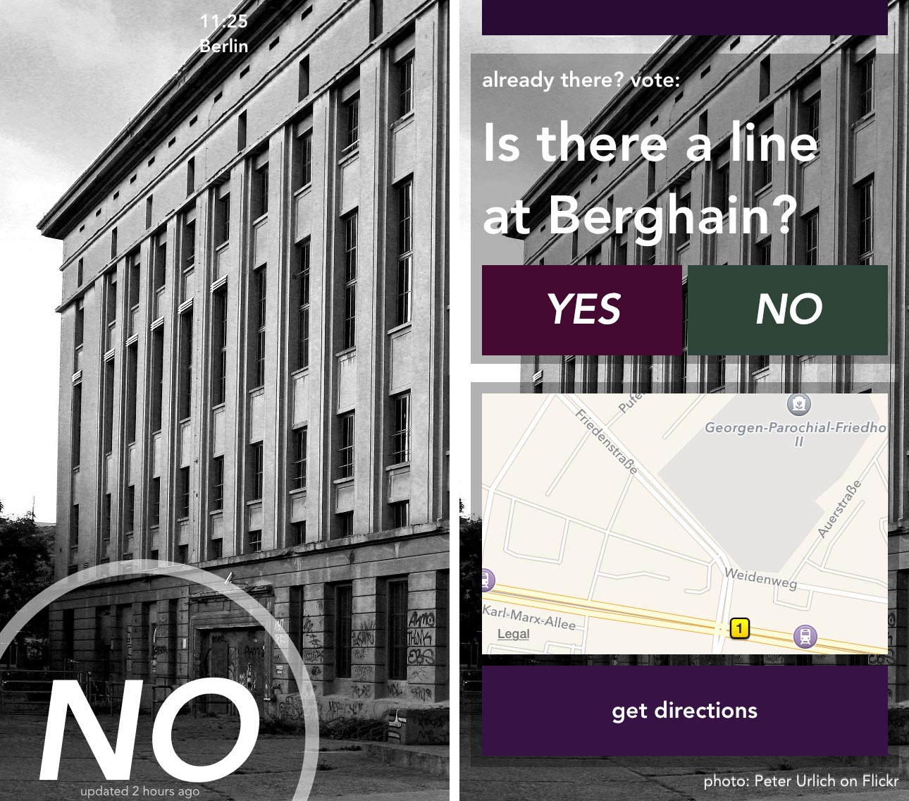 New Berlin App u2013 Is There A Line At Berghain? - andBerlin