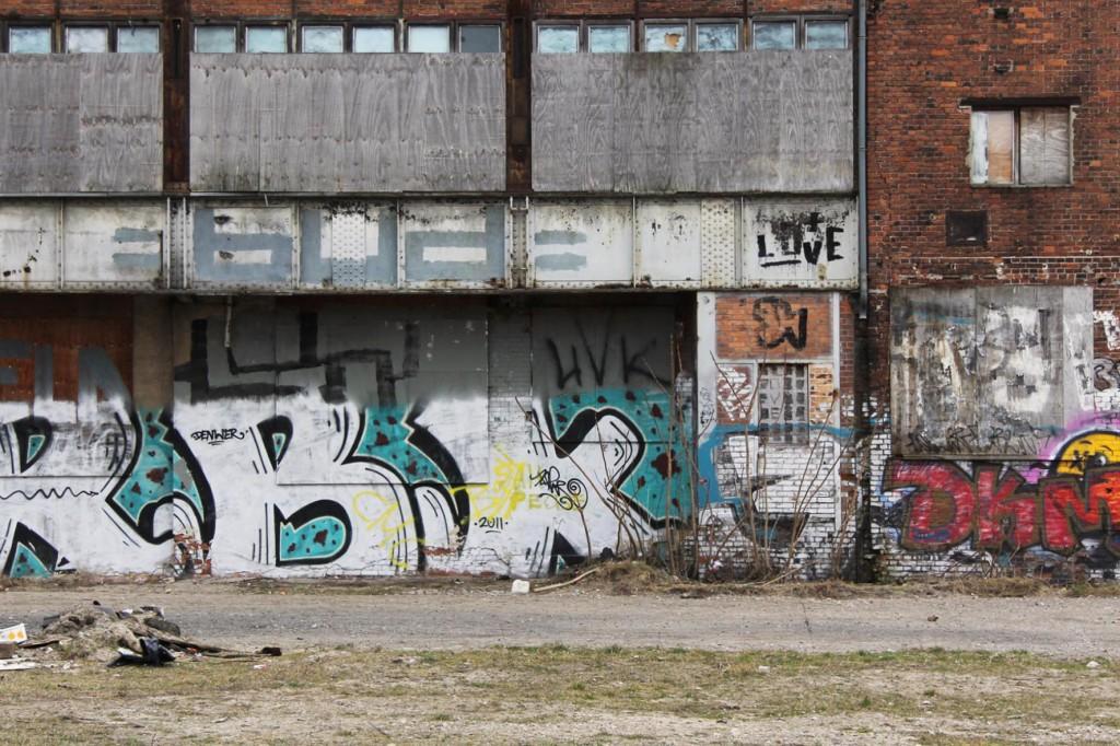 Love On An Abandoned Glass Factory in Friedrichshain in Berlin