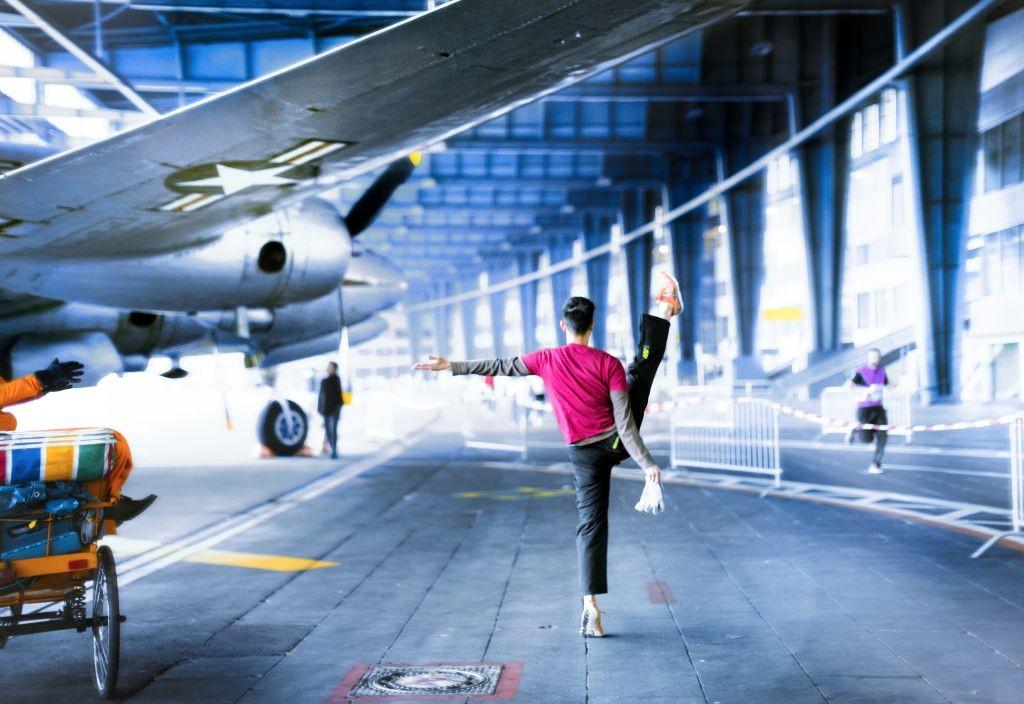 Mickael Jou Flughafen Tempelhof Berlin