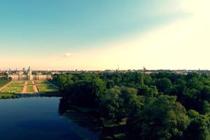 Schloss Charlottenburg – Aerial Footage