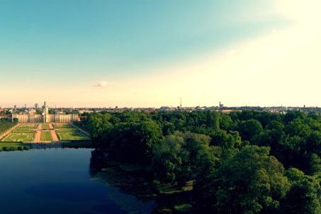 Schloss Charlottenburg Aerial View by Gil Holten