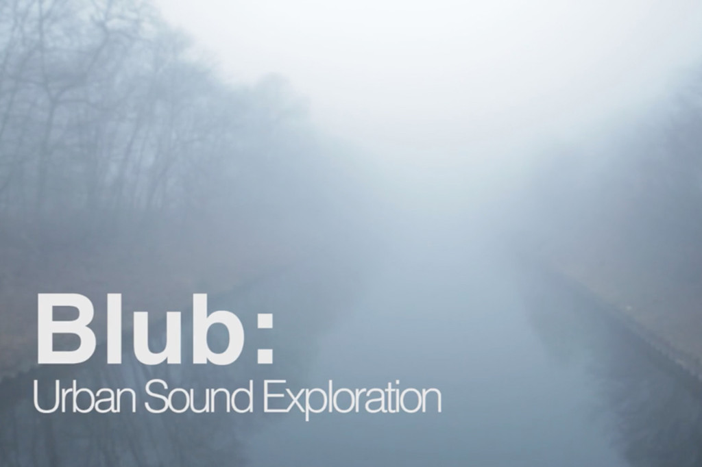 Screenshot from Blub - Urban Sound Exploration by Objekt Films