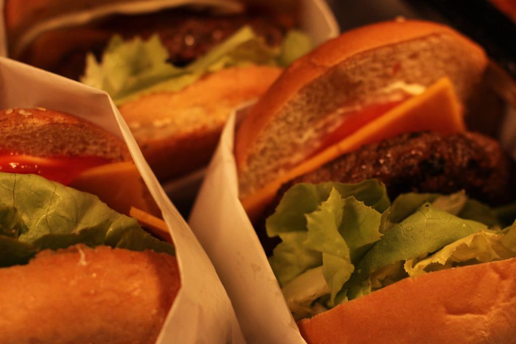Burgers at Warsteiner Electric Thursday Berlin at Haubentaucher