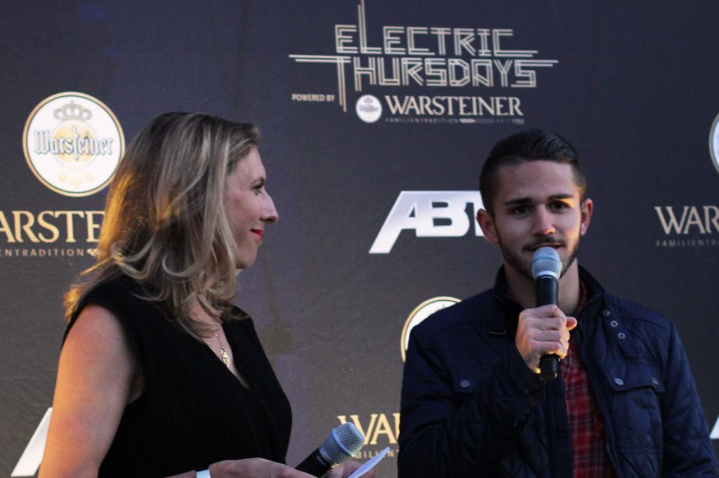 Daniel Abt at Warsteiner Electric Thursday Berlin