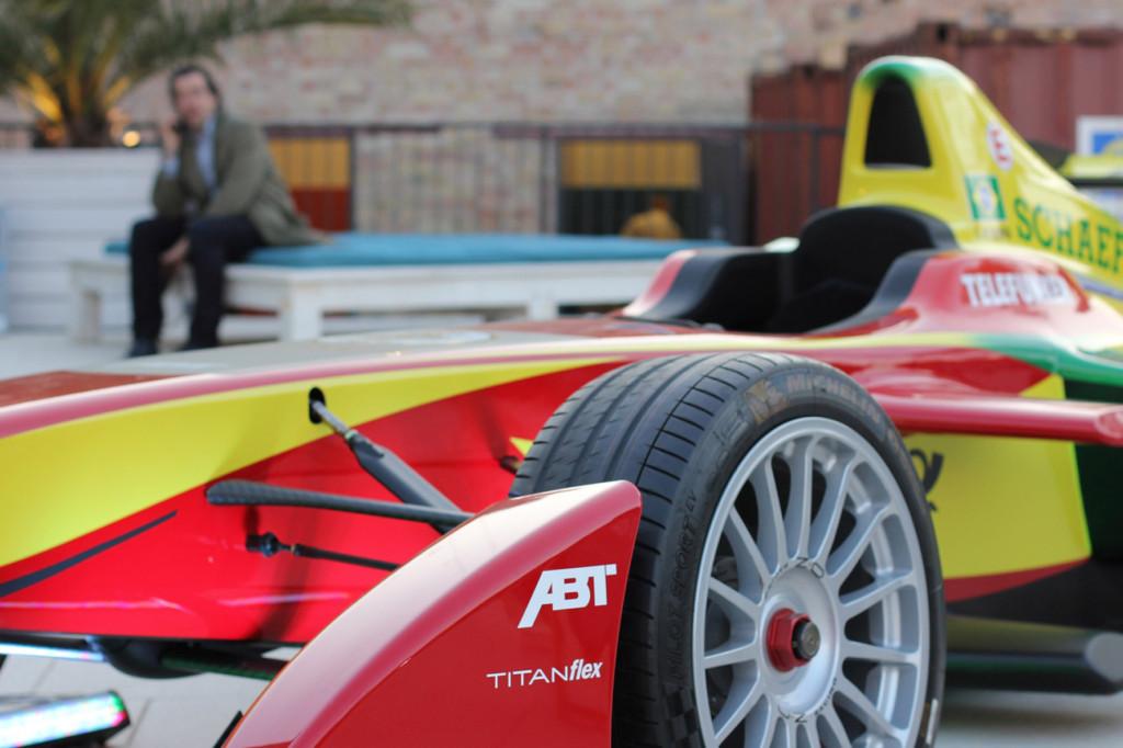 Formel E Car at Warsteiner Electric Thursday Berlin