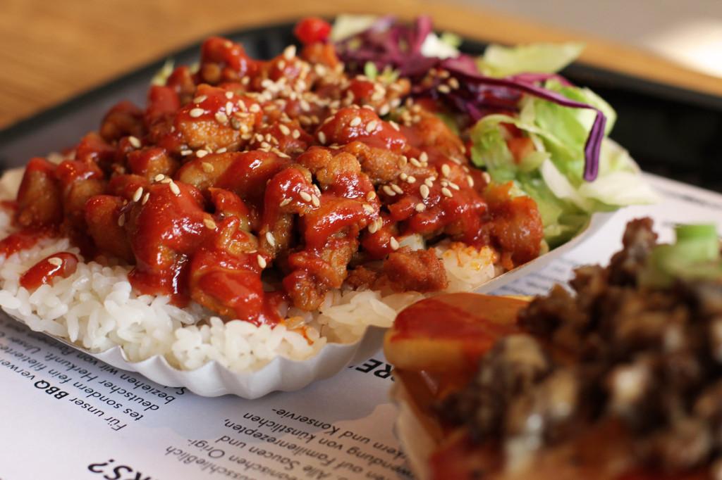 Hotgogi Original at Mmaah Korean BBQ Berlin