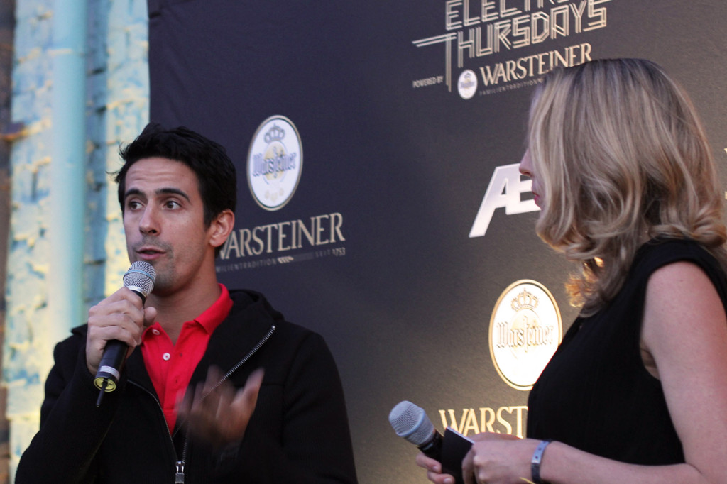 Lucas di Grassi at Warsteiner Electric Thursday Berlin