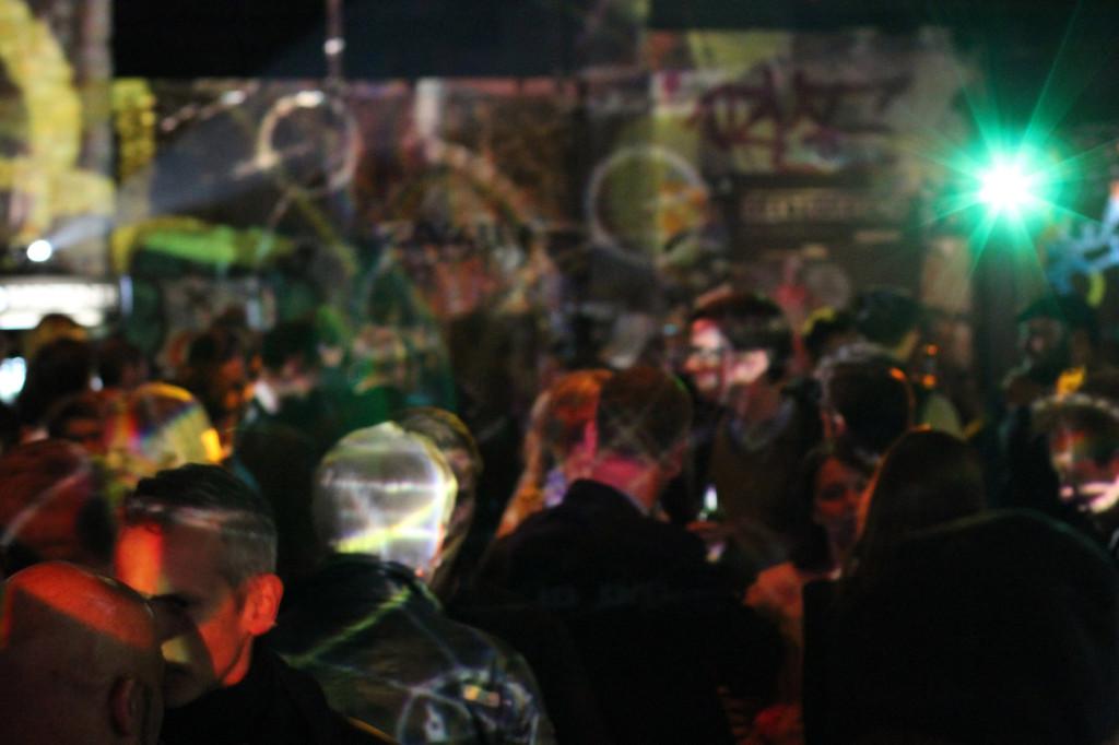 The Crowd at Warsteiner Electric Thursday Berlin at Haubentaucher
