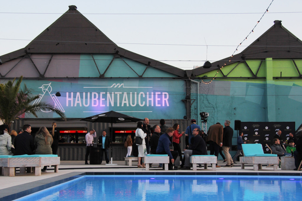 The Pool at Haubentaucher at Warsteiner Electric Thursday Berlin