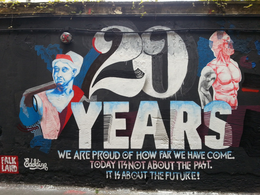 20 Years of Neurotitan Gallery in Haus Schwarzenberg, Berlin
