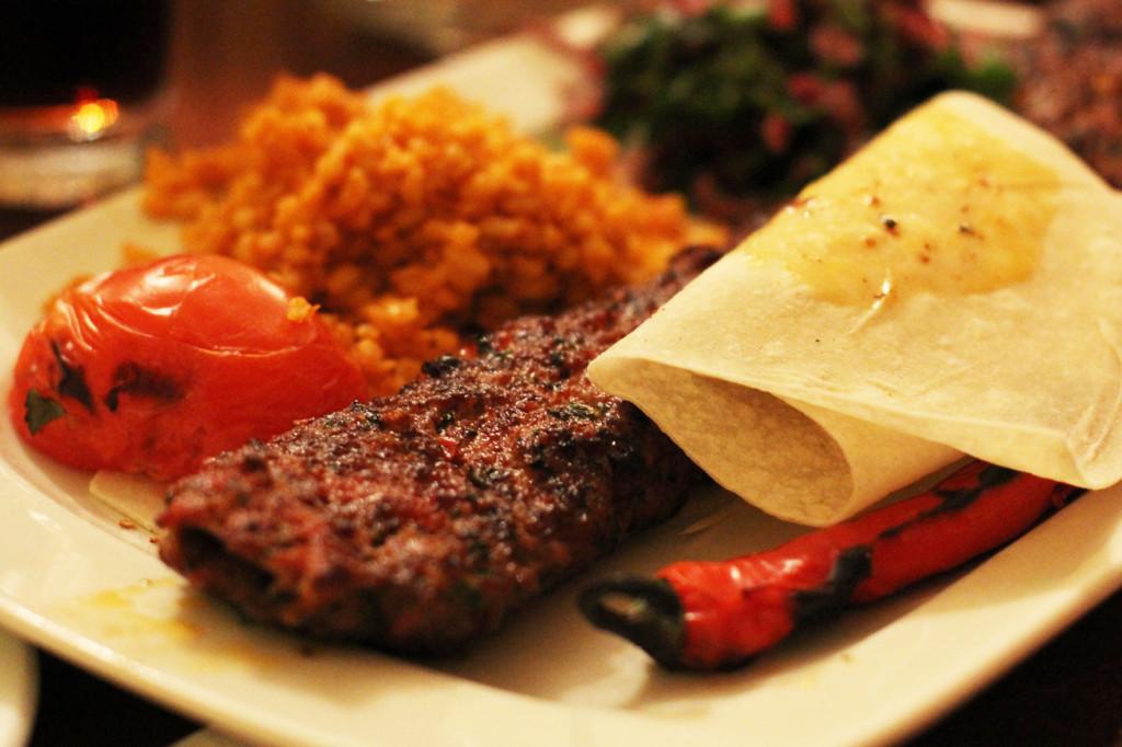 Beyti (Minced Meat Skewer) at Yeni Adana Grillhaus in Berlin