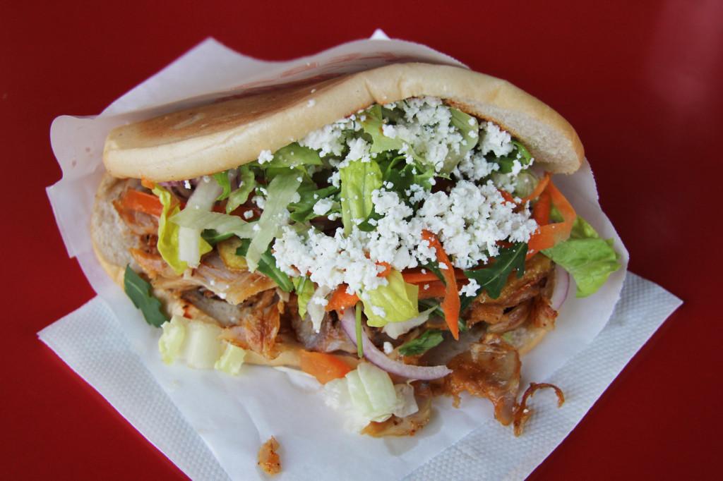 Chicken Döner Kebap at Hisar Fresh Food in Berlin - one of my best Berlin Kebaps (best Berlin Kebabs)
