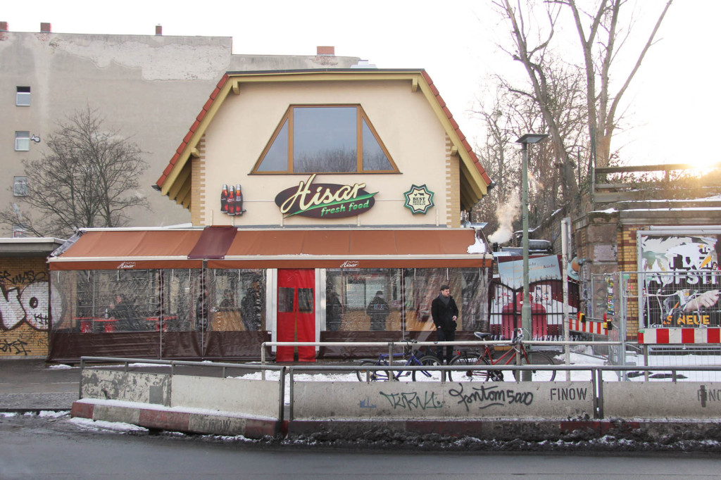 Hisar Fresh Food Berlin in Winter