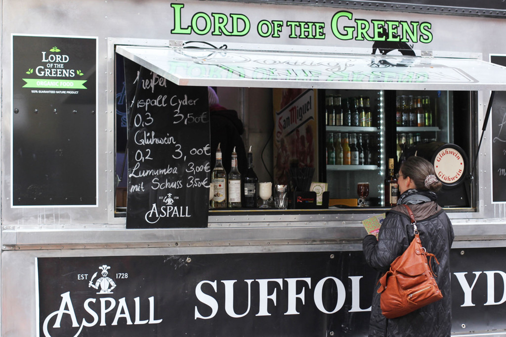 Lord of the Greens Truck Street Food auf Achse Berlin