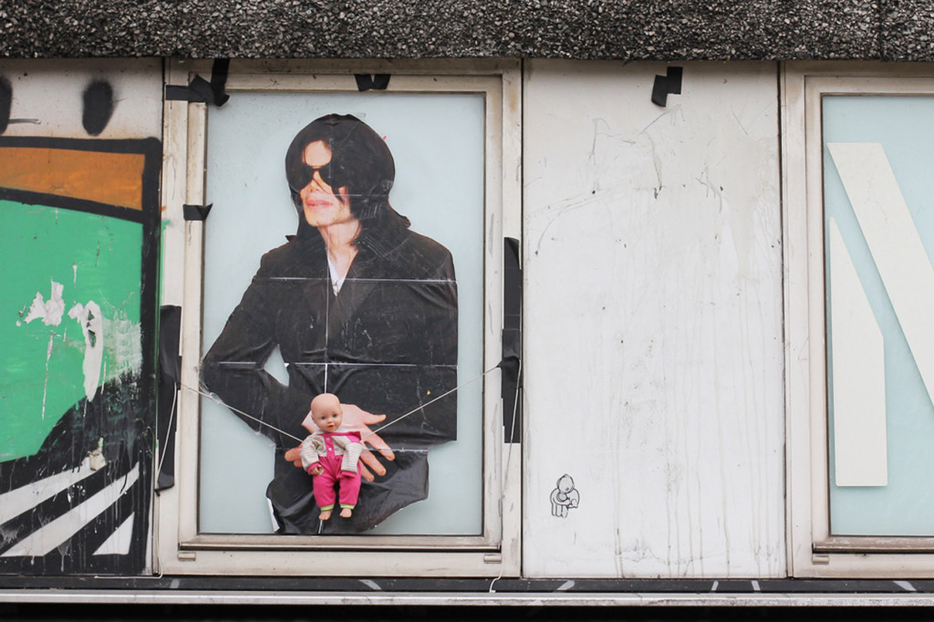 Michael Jackson - Street Art by Unknown Artist in Berlin