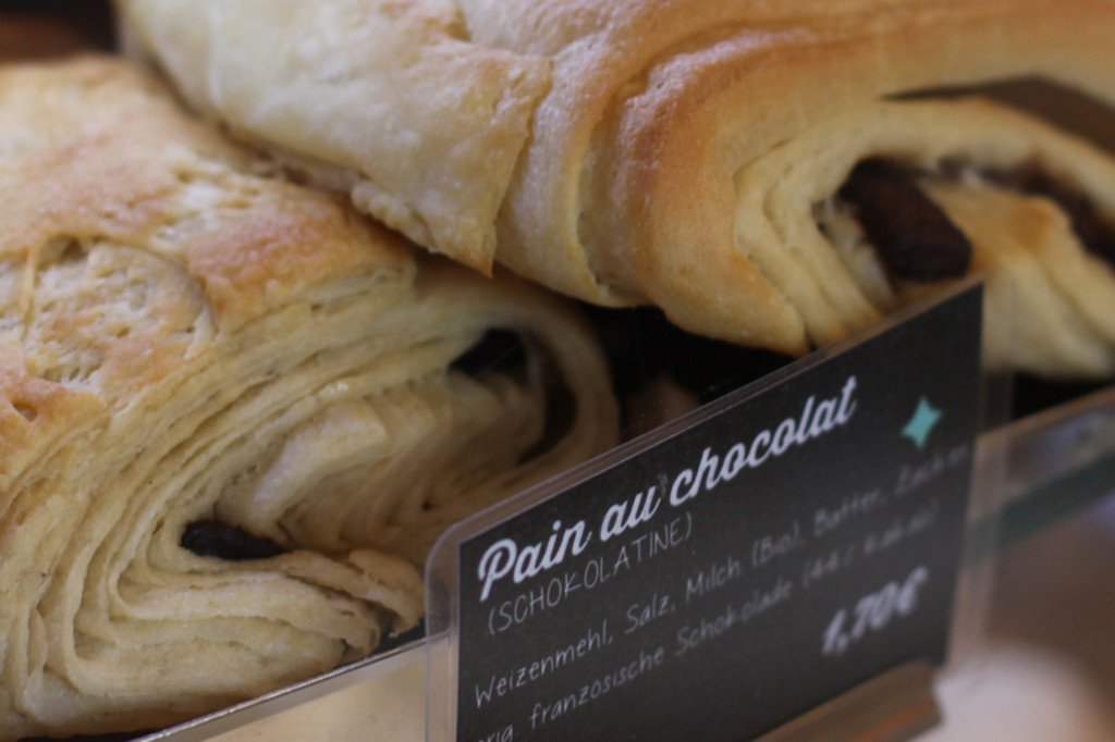 Pain au Chocolat (Schokolatine) at Bekarei in Berlin