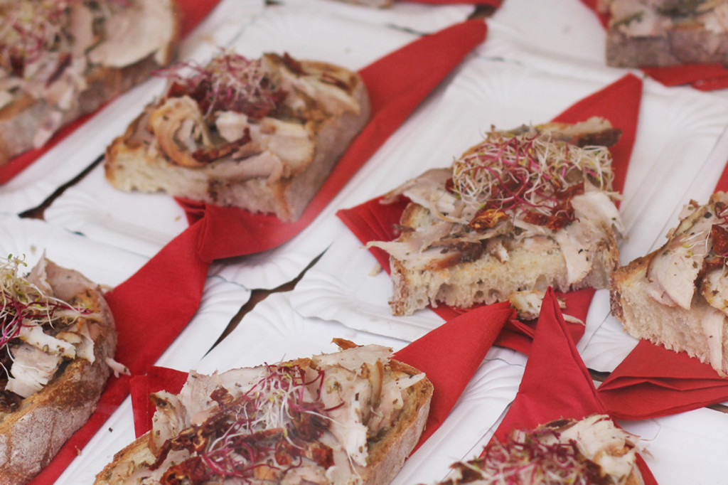 Porchetta Italiana at Porchetta Fraktion at Street Food auf Achse Berlin