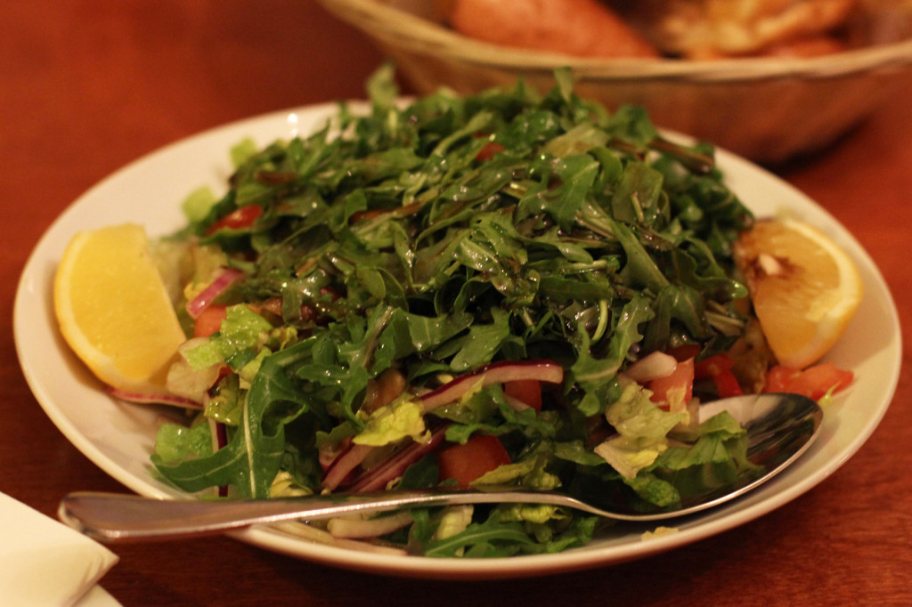 Salad at Yeni Adana Grillhaus in Berlin