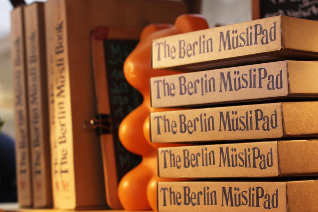 The Berlin Müsli Pad at Breakfast Market at Markthalle Neun in Berlin