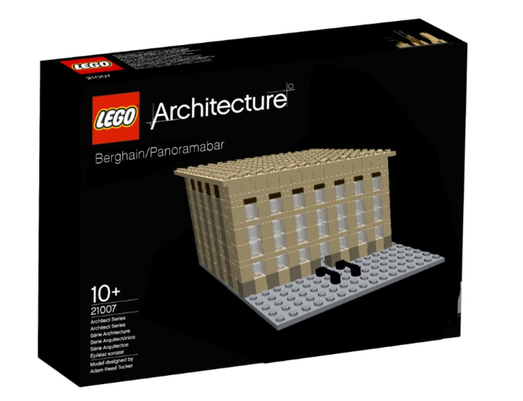 Lego Berghain/Panorama Bar from Just Berghain Things on Facebook