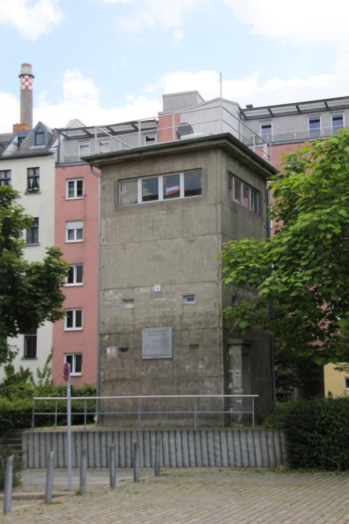 Gedenkstätte Günter Litfin Watchtower Berlin