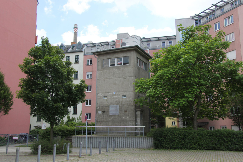 Gedenkstätte Günter Litfin Watchtower in Berlin