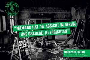 Berliner Berg – New Berlin Brewery Crowdfunding Campaign