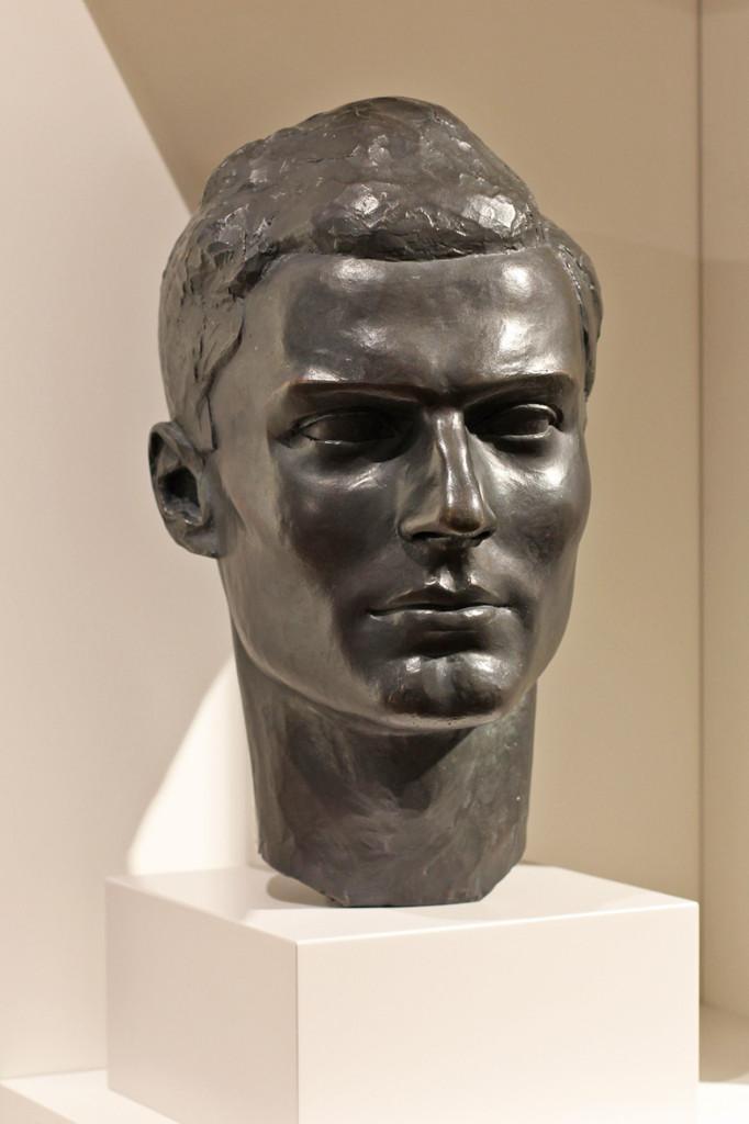 Bust of Claus von Stauffenberg at the German Resistance Memorial Centre (Gedenkstätte Deutscher Widerstand) in the Bendlerblock in Berlin