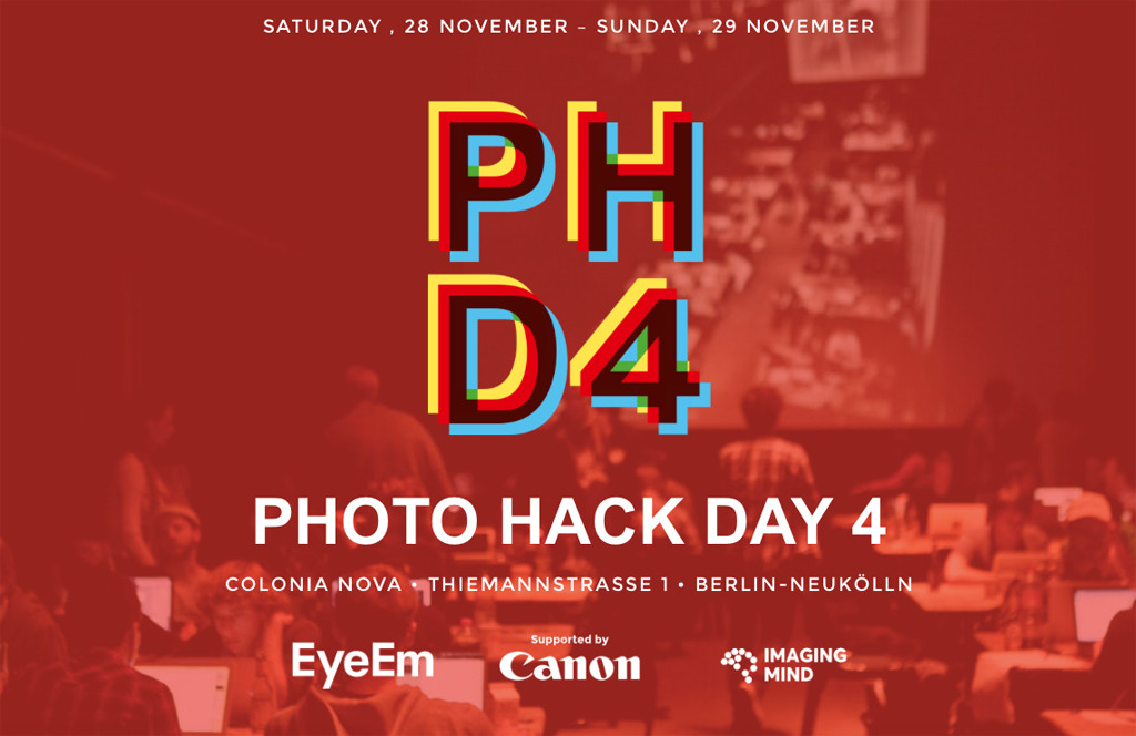 Photo Hack Day 4 Berlin Flyer