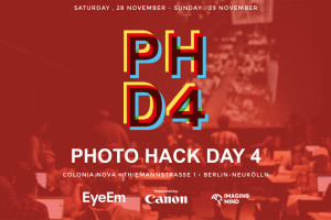 Photo Hack Day 4 Berlin – EyeEm x Canon x Imaging Mind x YOU