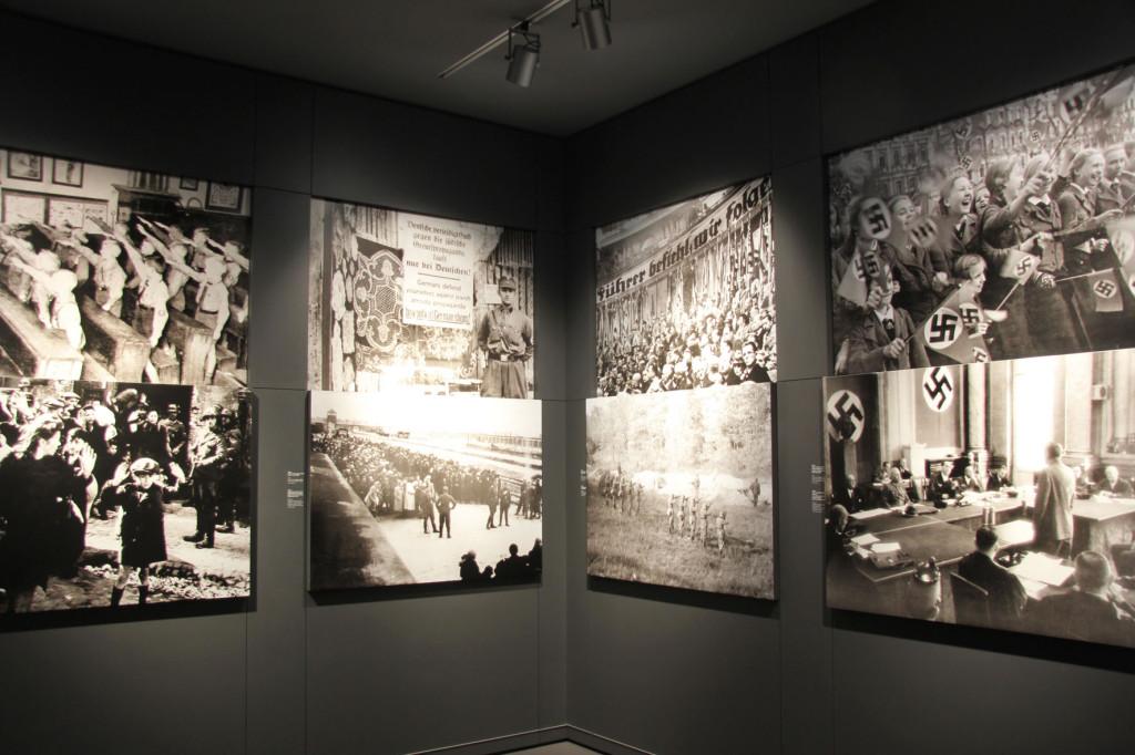 Photos at the German Resistance Memorial Centre in (Gedenkstätte Deutscher Widerstand) in the Bendlerblock in Berlin