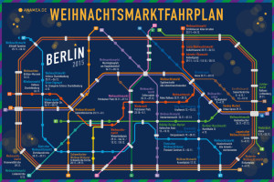 Berlin Christmas Markets Map