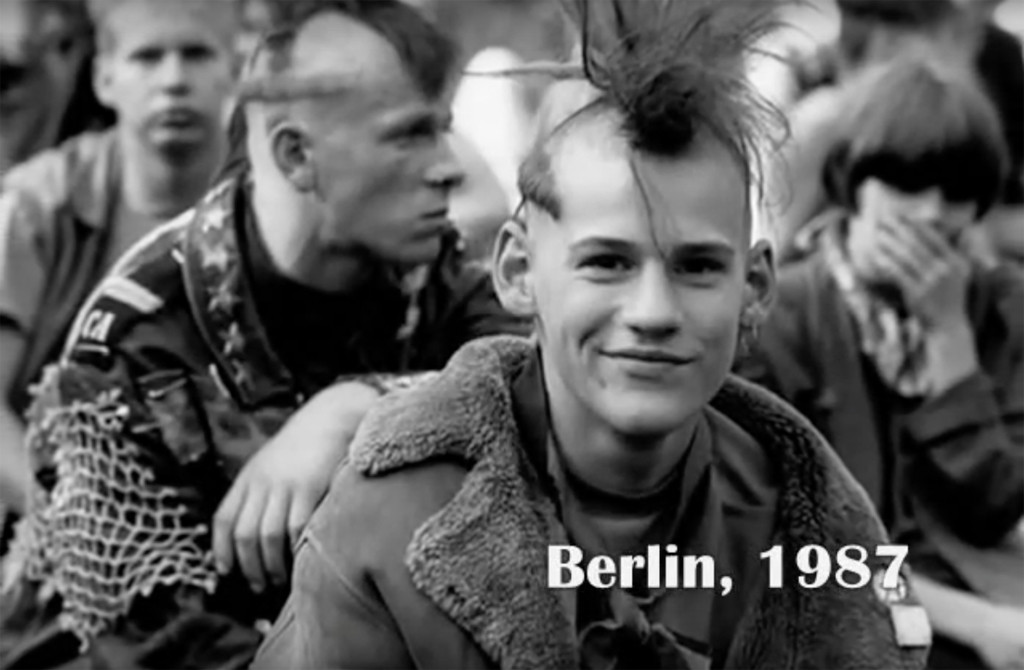 Berlin Punks - Still from Ostberlin IX