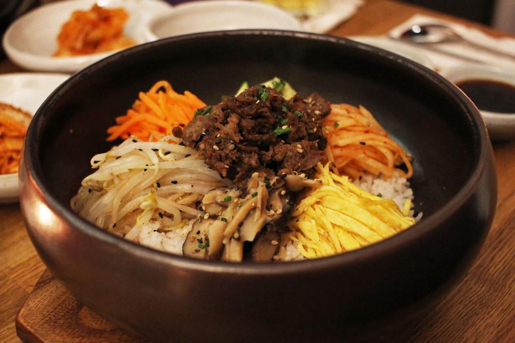 Bibimbap at WaWa Berlin Korean Restaurant