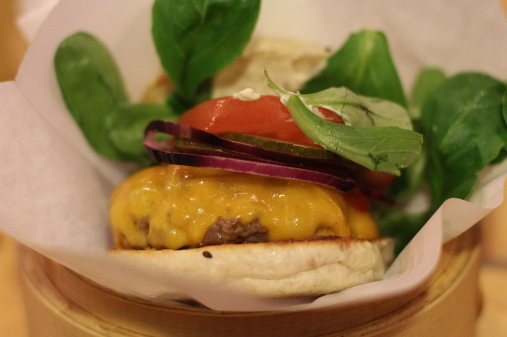 Cheeseburger at Shiso Burger Berlin