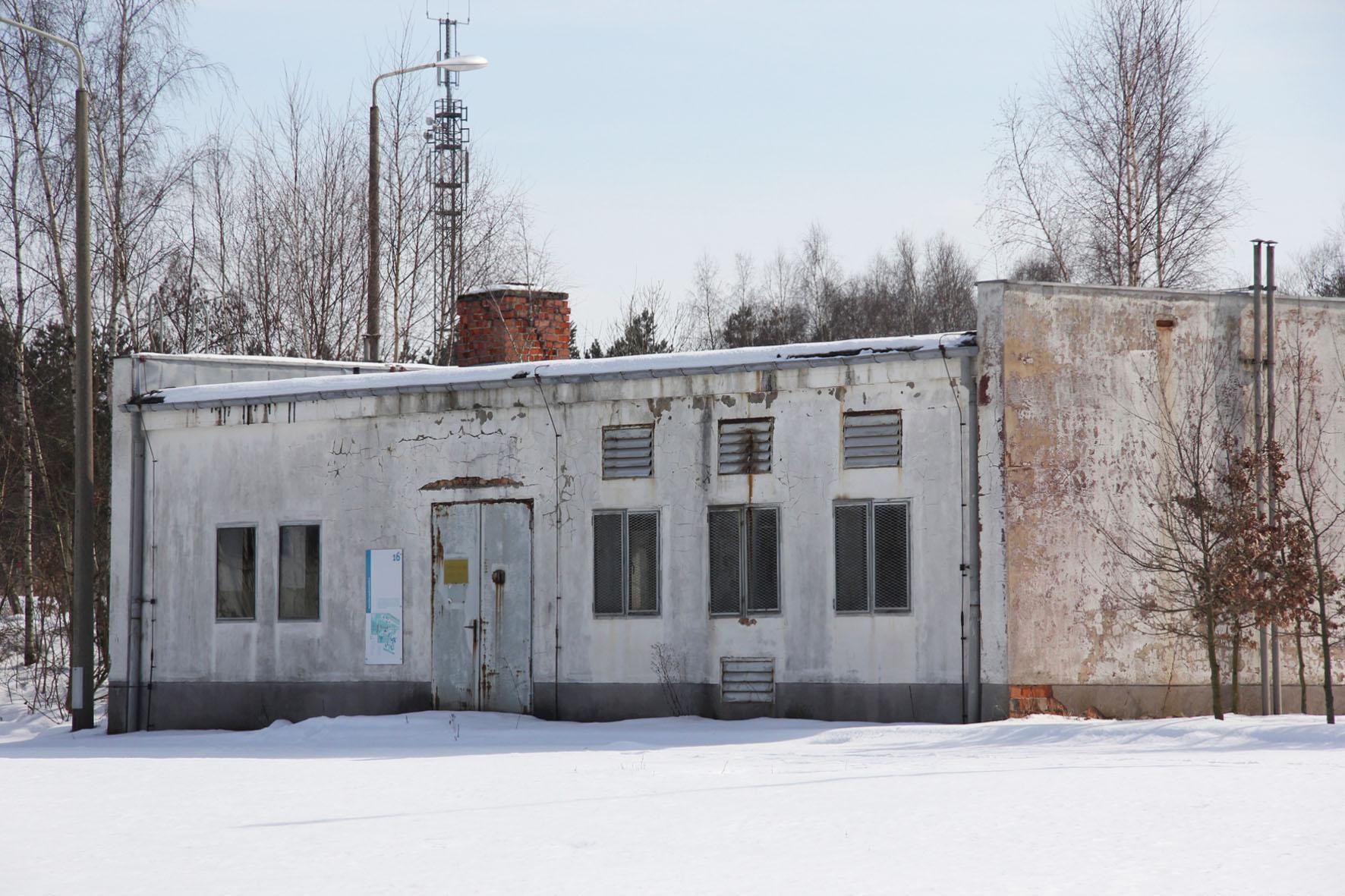 Gasversorgungsstation an der Gedenkstätte Deutsche Teilung Marienborn am Checkpoint Alpha