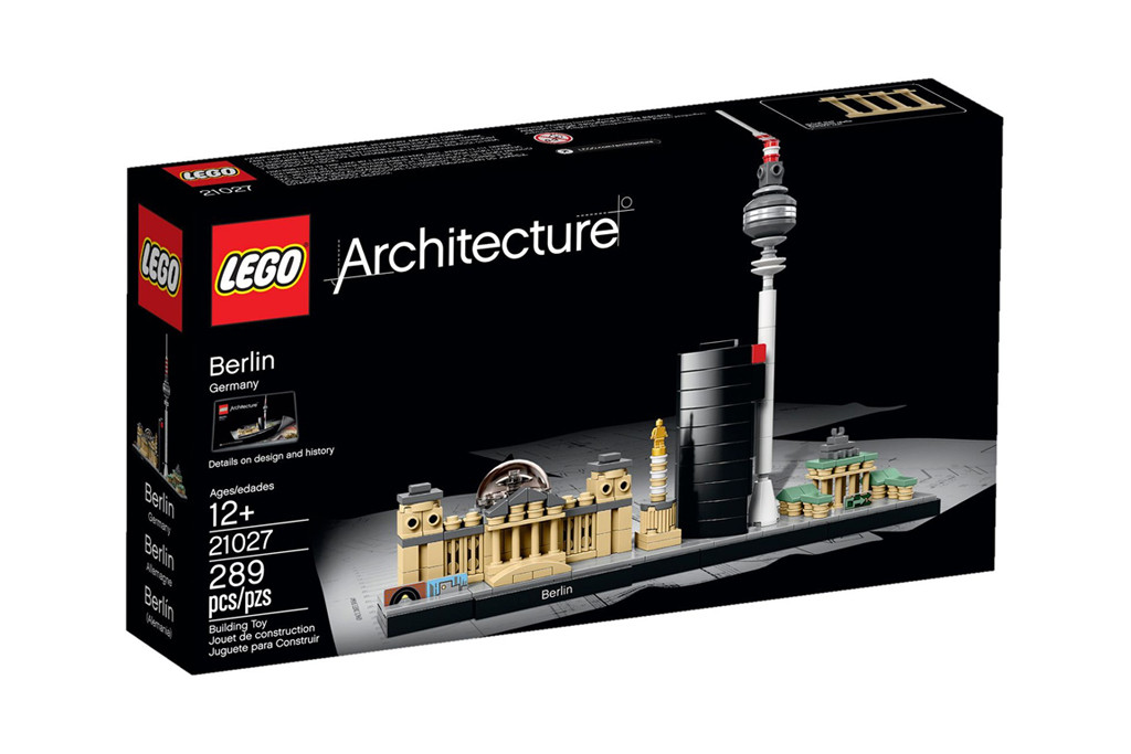 LEGO Architecture Berlin Cityscape 21027 Box - © LEGO