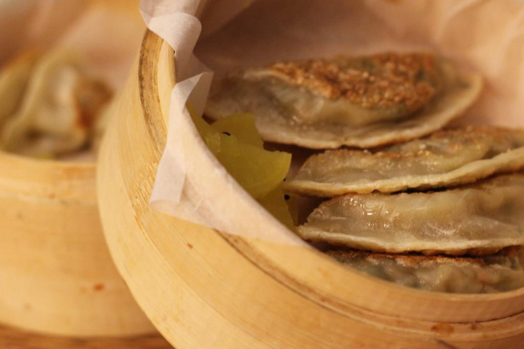 Mandu - pork dumplings - at WaWa Berlin Korean Restaurant