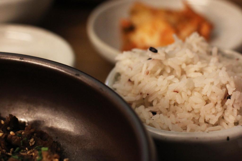 Rice at WaWa Berlin Korean Restaurant