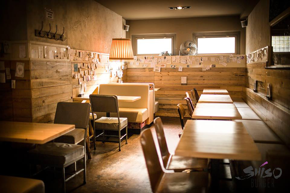 Shiso Burger Berlin Interior