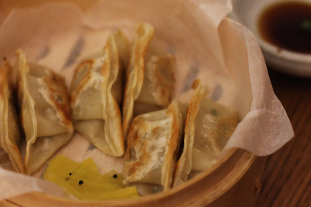 Veggie Mandu - dumplings - at WaWa Berlin Korean Restaurant