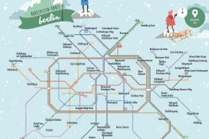 Berlin Sledging Map – Where to hit the slopes