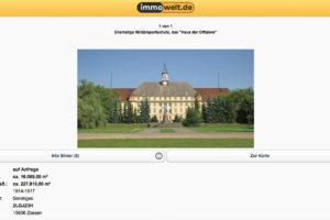 Haus der Offiziere, Wünsdorf – For Sale