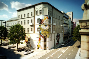 Urban Nation Museum for Urban Contemporary Art – Construction Begins