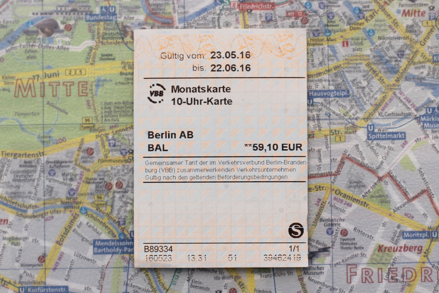 Getting Caught Without a Valid Ticket on Berlin Public