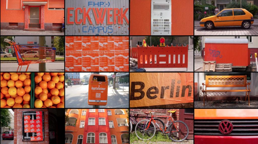 Berlin in Orange - Ein Screenshot von BERLIN (CLASSIFIED) ein Video von Julien Patry