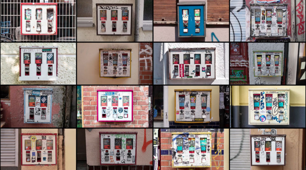 Berliner Kaugummiautomaten - Ein Screenshot von BERLIN (CLASSIFIED) ein Video von Julien Patry