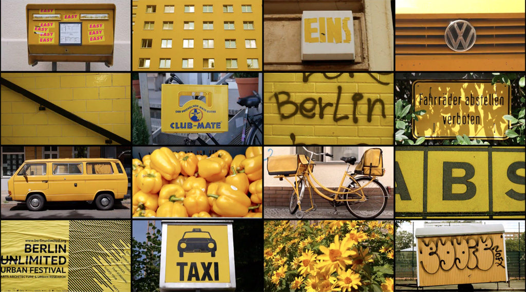 Berlin in Yellow - screenshot from BERLIN (CLASSIFIED) by Julien Patry