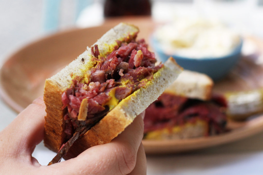 Classic Pastrami Sandwich at Louis Pretty Berlin